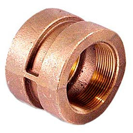 "Brass 250 Lb Lead Free Fitting 2"" Coupling NPT Female"