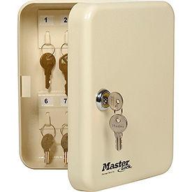 """Meuble de rangement clé de Master Lock® No.7131D - cales 20-Keys, 7-3/4"""" W x 3 H «D x 6-1/4», avec les touches 2"""