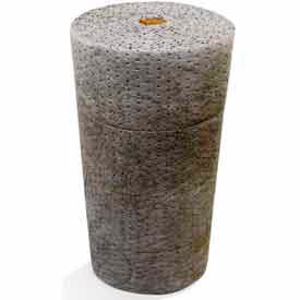 """Universal Dimpled Absorbent Roll, Heavy Weight, 150' x 30"""", Gray, 1/Roll"""