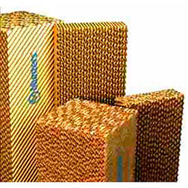Celdek® Evaporative Cooling Media Cel1545041248 - 4x12x48 - Pkg Qty 3