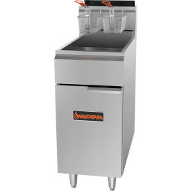 Sierra Range SRF-40/50 - Fryer, 114,000 BTU, 45-50 Lbs. Capacity, Tube Fired, Floor Model, S/S