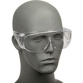 Economical Clear Safety Glasses, Safety Works 817691
