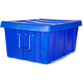"""Myton Bulk Shipping Poly Container MTL-2 With Lid 31""""L x 22""""W x 15""""H, Green"""