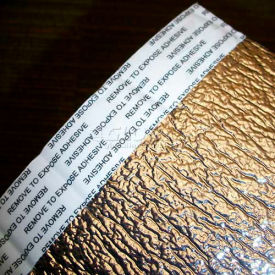 """NOFP Solex™ isolant Radiant barrière SOL4125RP, 125' L X 1/4"""" H, tenir compte (x 2) & perforé"""