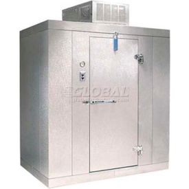 "Nor-Lake Kold Locker - KLF7766-CL Indoor Freezer -10°F, Floor, LH Door, 72""W x 72""D x 91""H"