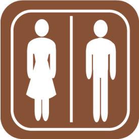 Architectural Sign - Rest Room Symbol