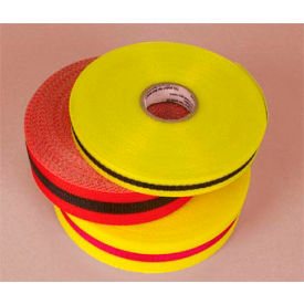 "Webbed Barrier Tape - Red/Black - 2""W"