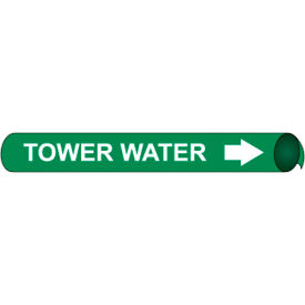 Precoiled and Strap-on Pipe Marker - Tower Water