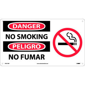Bilingual Plastic Sign - Danger No Smoking