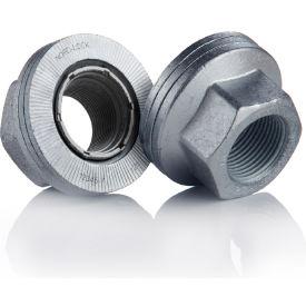 Wedge Locking Wheel Nut - M22 x 1.5 - Carbon Steel - Zinc Flake Coated - Pkg of 20 - Nord-Lock 2638- Pkg Qty 1