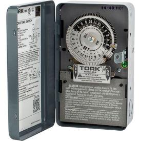 NSI TORK® 1101B 24 Hour Time Switch, 40A, 120V, SPST, Indoor Metal Enclosure, cULus- Pkg Qty 1