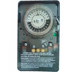 NSI TORK® 8009A 24 Hour Heavy Duty Time Switch, 20A, 120/208-277V, SPDT, NEMA 1 Metal Enclosure
