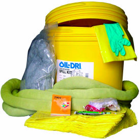 Oil-Dri® HazMat Spill Kit Refill Pack, 20 Gallon Capacity