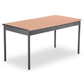 "OFM 30"" x 60"" Multi-Purpose Utility Table, Maple"