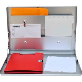 Omnimed® Standard Wall Desk, Anodized Aluminum