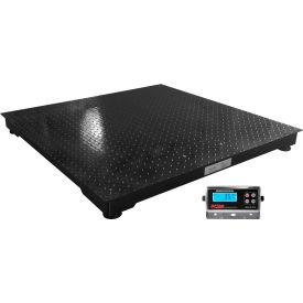 "Optima 916 Series 48"" x 48"" Heavy Duty Pallet Digital Scale 5,000lb x 1lb"