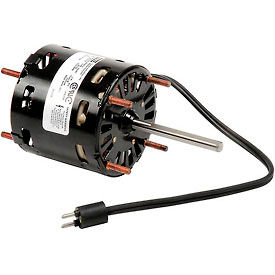 "Fasco D1124, 3.3"" Shaded Pole Open Motor - 115 Volts 1550 RPM- Pkg Qty 1"
