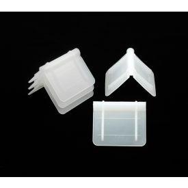 "Plastic Corner Protectors CP-125 2-1/2"" x 2"" White, 1000 Pack"