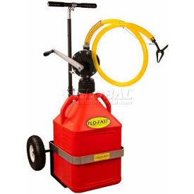 Flo-Fast™ système de fluide de transfert, 15 gallons, jaune, 31015Y