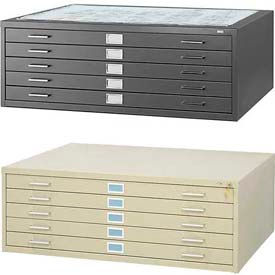 Safco® - 5 & 10 Drawer Steel Flat Files
