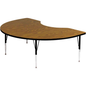 Kidney Shaped Standard Height Activity Tables