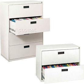 Sandusky 2 & 4 Drawer Lateral Files - Recessed Handles