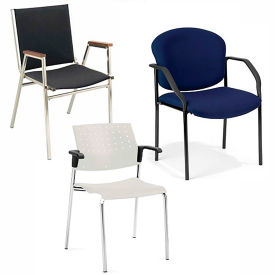 Stacking Chairs with Arms
