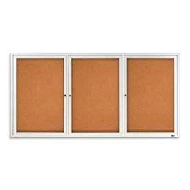 3 + portes cadre aluminium tableaux en liège