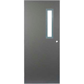 CECO Hollow Steel Narrow Light Glass Doors