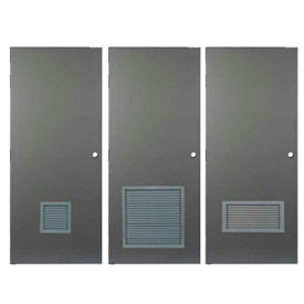 CECO Hollow Steel Doors With Louvers