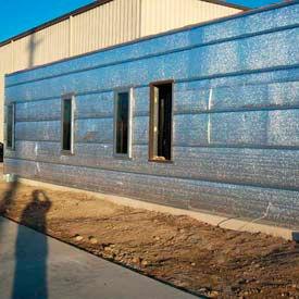 Reflective Insulation & Vapor Barrier