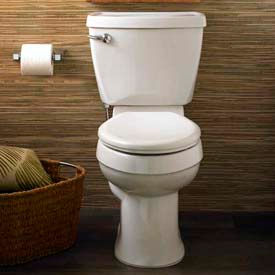 American Standard Two-Piece Toilets With Everclean Surface