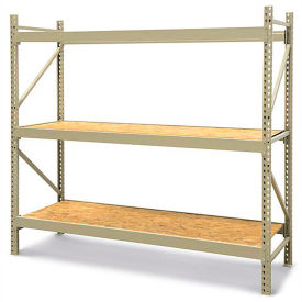 JBX 800 Wide-Span Boltless Shelving With Wood Decks