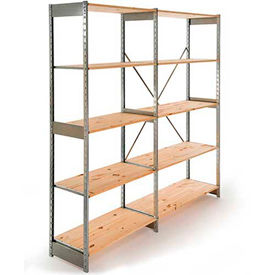 Excalibur D-Shelving - Galvanized & Wood