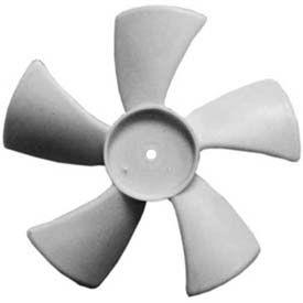 Small Plastic Push-On Fan Blades