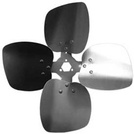 Four Wing Condenser Fan Blades With Interchangeable Hub