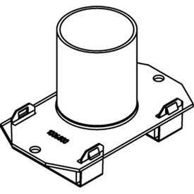 Evolution de Wiremold 6AT série incendie est calibrée pour boîtes de Poke-Thru