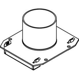 Evolution de Wiremold 8AT série incendie est calibrée pour boîtes de Poke-Thru