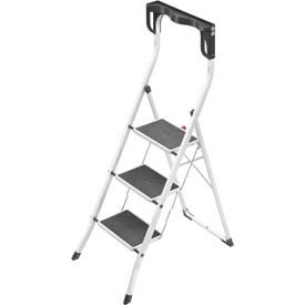 Hailo Steel Folding Step Ladders