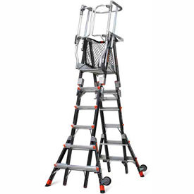 Little Giant® Aerial Safety Cage Ladders