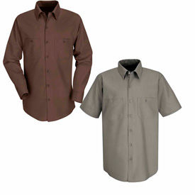 Red Kap® Industrial Work Shirts