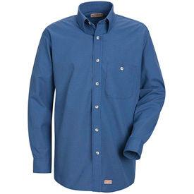 Red Kap® Mini-Plaid Uniform Shirts