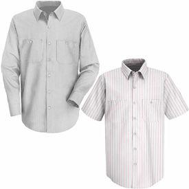 Red Kap® Striped Dress Uniform Shirts