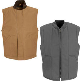Red Kap® Blended Duck & Quilted Vests