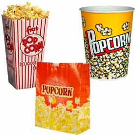 Popcorn Bags, Boxes, & Buckets