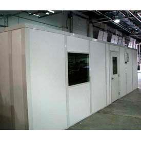Ebtech préfabriqués modulaires inplanta bureaux - Premier vinyle vêtu, feu de classe A & SC 32 évalué (cadre aluminium)