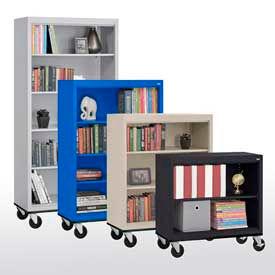 Acier - bibliothèques mobiles