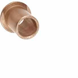 Oilube® Powdered Metal Bronze SAE841 Flange Bearings - INCH, Type FF