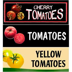 Tomatoes Grocery Signs