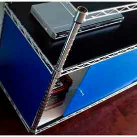 Plastic Enclosures for Wire Shelving 13